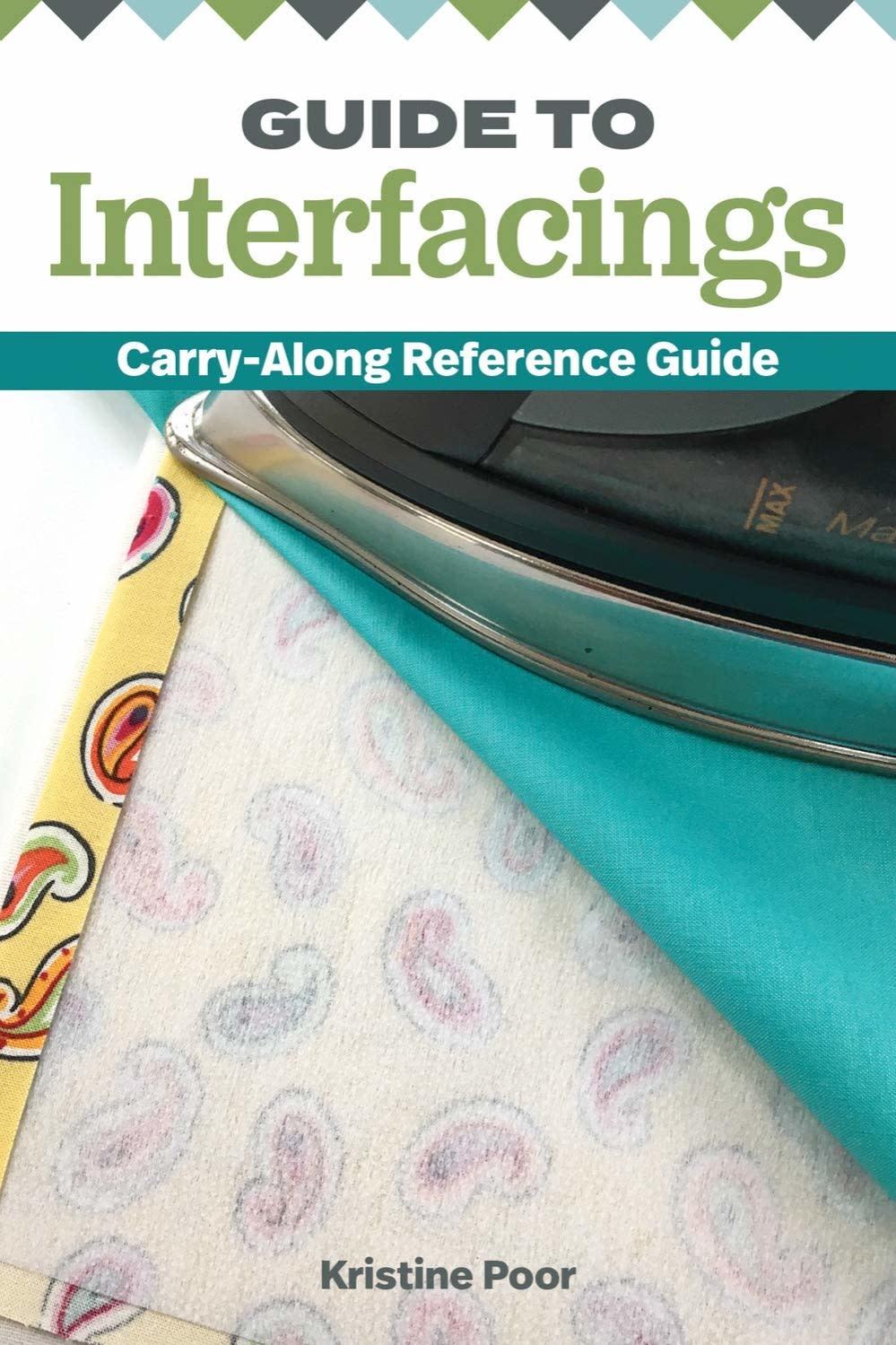 "LANDAUER PUBLISHING Guide to Interfacings: Carry-along Reference Guide (Landauer) 4X6"""