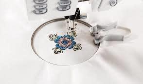 "HUSQVARNA VIKING Mini Embroidery Spring Hoop 1.6X1.6"""
