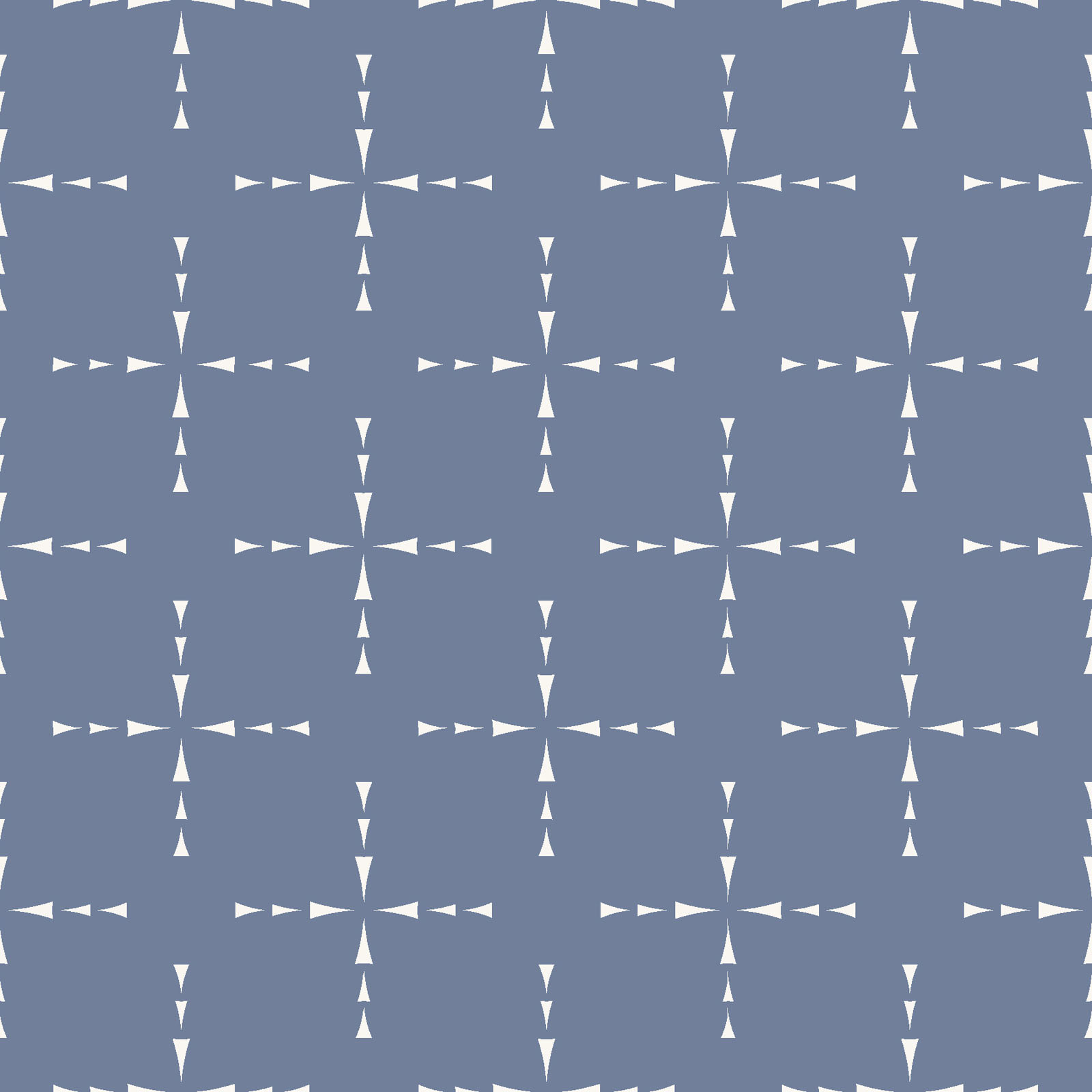 MAYWOOD MOONGATE, Coordinates Blue (Grid), per cm or $18/m