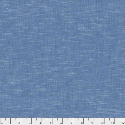 FREE SPIRIT Karma Cottons (Kismet) - Azure, per cm or $16/m End of May 2020