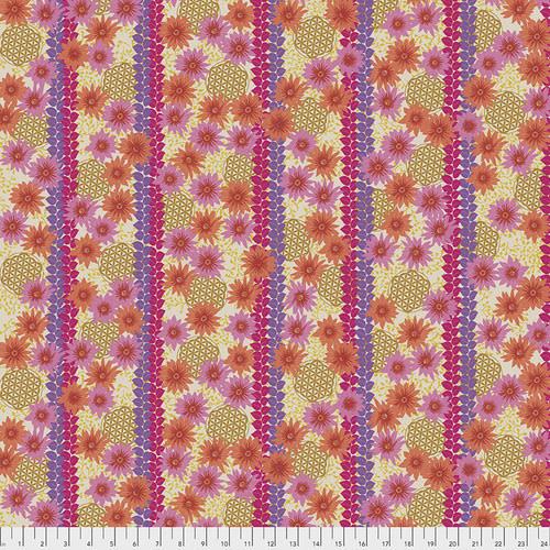 FREE SPIRIT Kismet - Oasis - Fuchsia, per cm or $16/m End of May 2020
