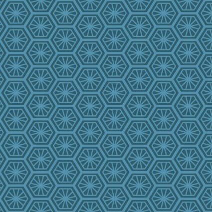 MAYWOOD Turtle Bay Turtle Shell Teal, /CM OR $18/M