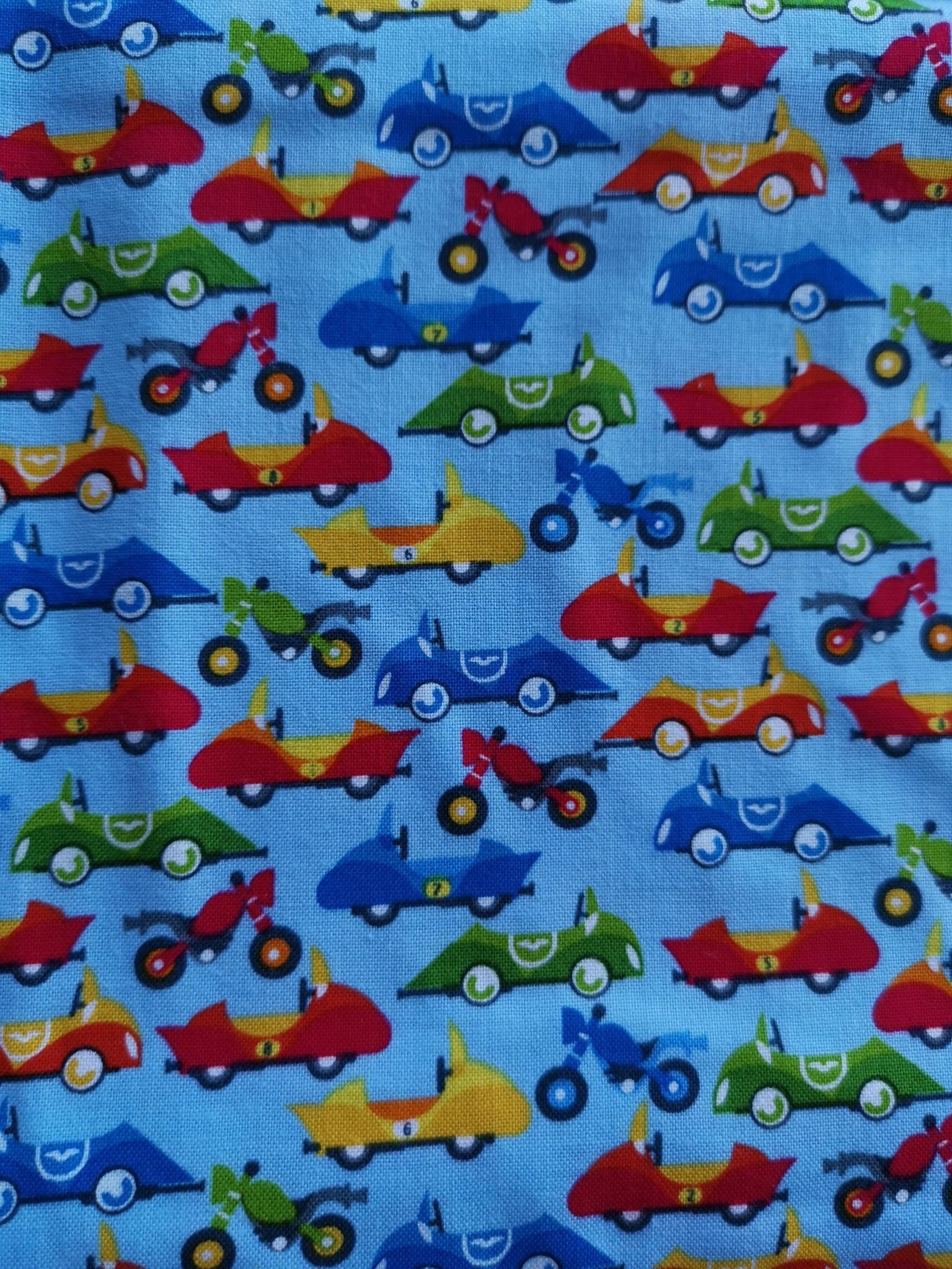 STUDIO E SAFARI DRIVE, CARS ON BLUE, PER CM OR $16/M