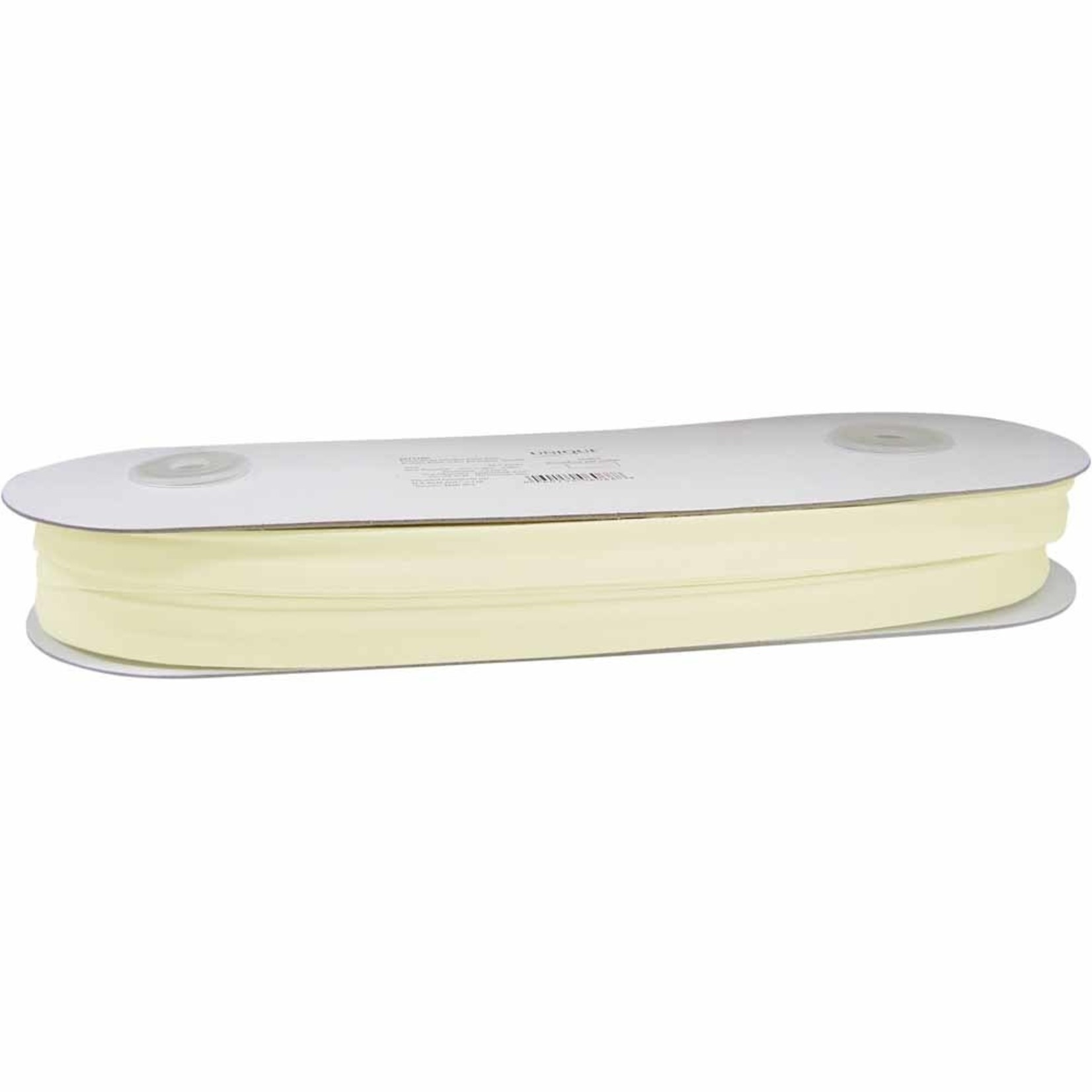 Unique Extra Wide Double Fold Bias Tape 16mm x 25m - Ivory