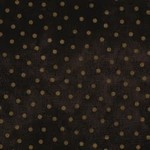 Maywood Flannel Woolies Polkadots Brown on Black PER CM OR $20/m