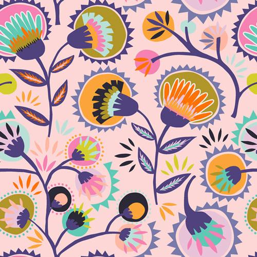 ART GALLERY Oh, Meow! Kattaland Flora, per cm or $20/m