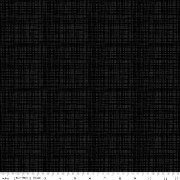 RILEY BLAKE DESIGNS TEXTURE, BLACK $.20CM, $20M