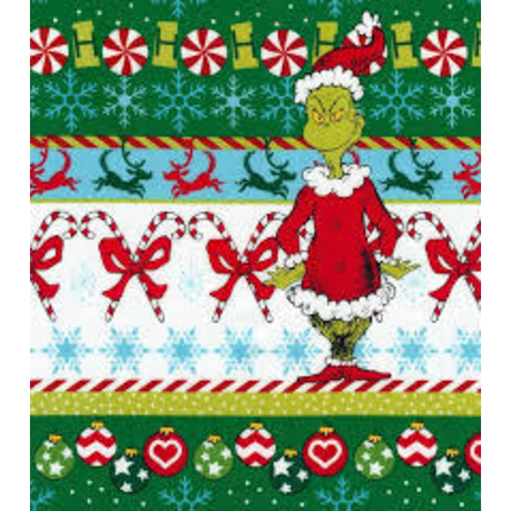 ROBERT KAUFMAN HOW THE GRINCH STOLE X-MAS, BORDER PER CM OR $19/M