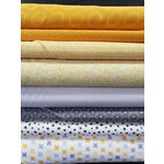 YELLOW AND GREY BABY CURATED BUNDLE