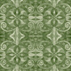 "Blank Quilting Corp Baroque - Green 108"" WIDE, PER CM or $30/M"