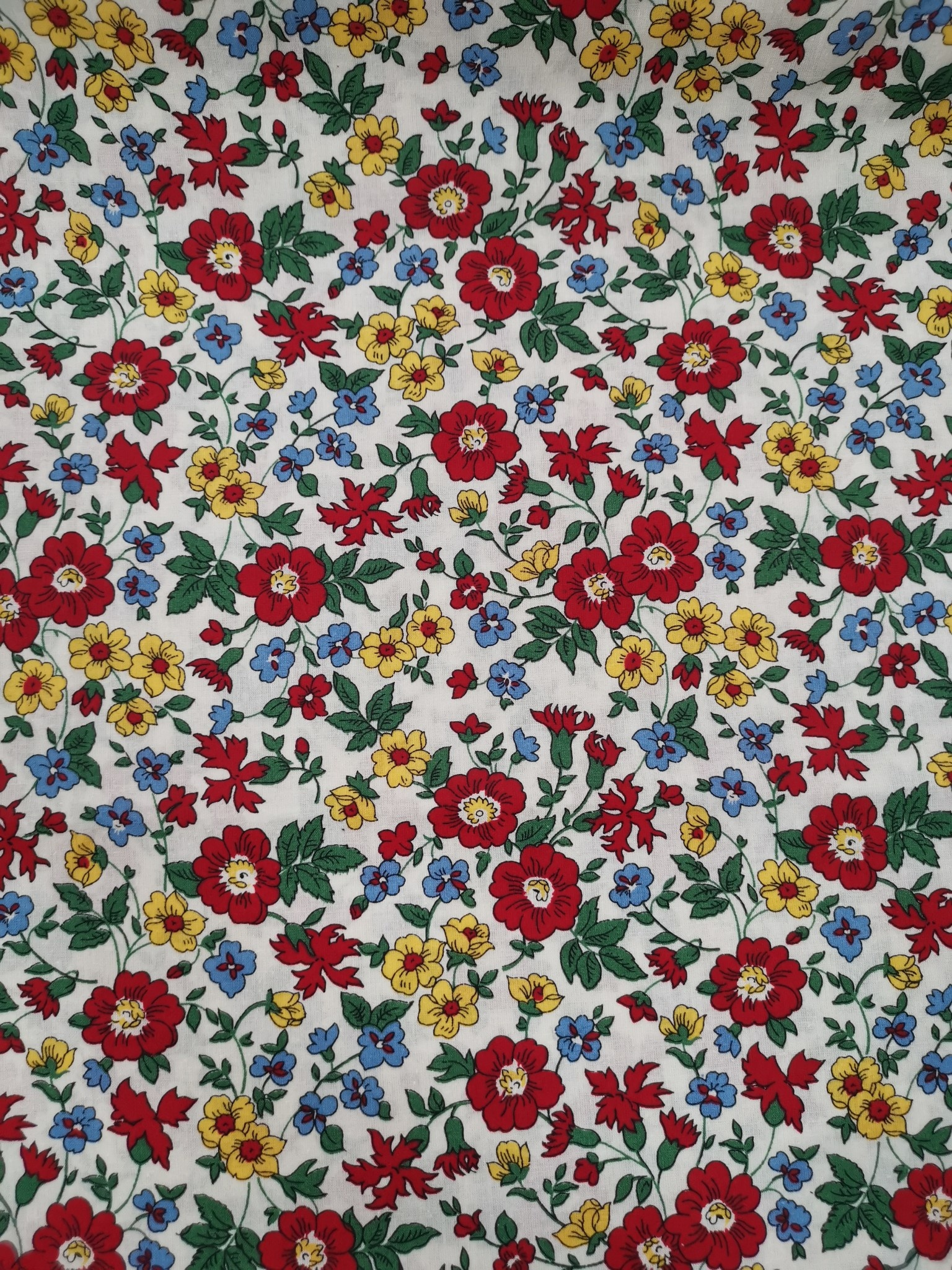 "MARCUS FABRICS Quilt Backs - Aunt Grace`s Garden Party 108"" WIDE, PER CM or $18/M"