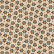 Blank Quilting Corp Barn Dance - Floral - Ecru PER CM OR $20/M