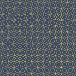 ANDOVER Almost Blue, Stitch, Indigo Metallic, $0.20/cm or $20/m