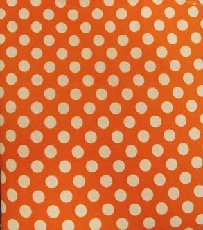 4.15M Kaufman Spot On Orange Polka Dot was $20/M