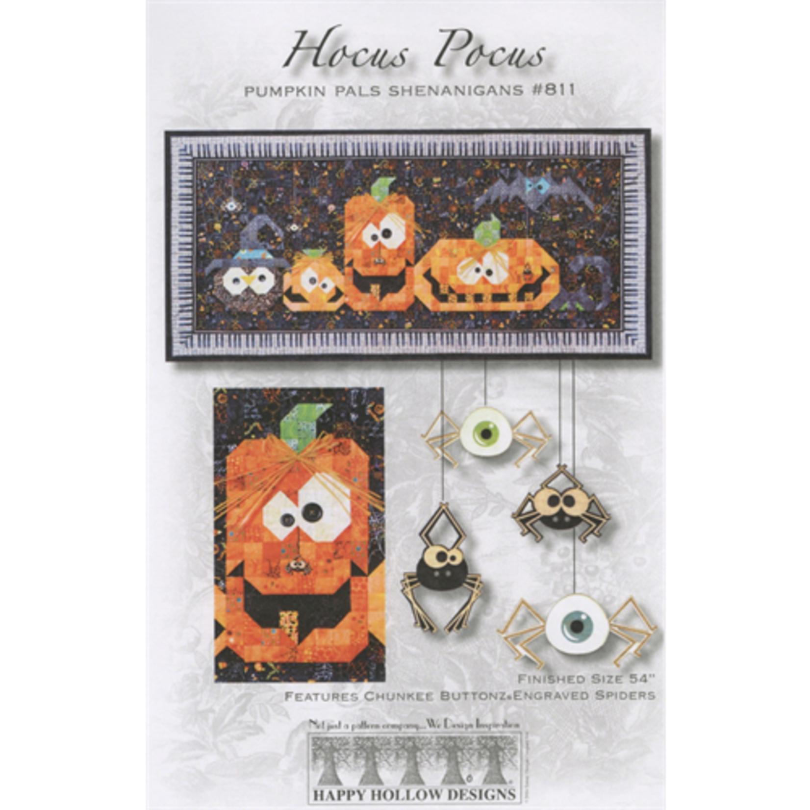 Happy Hollow Designs Hocus Pocus Pumpkins Pattern #811