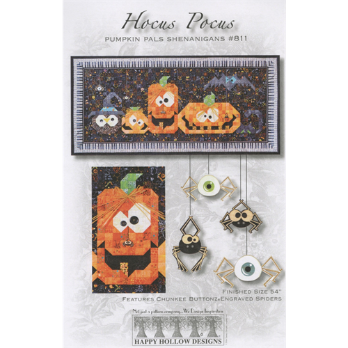 HAPPY HOLLOW DESIGNS Hocus Pocus Pumpkins Pattern #811