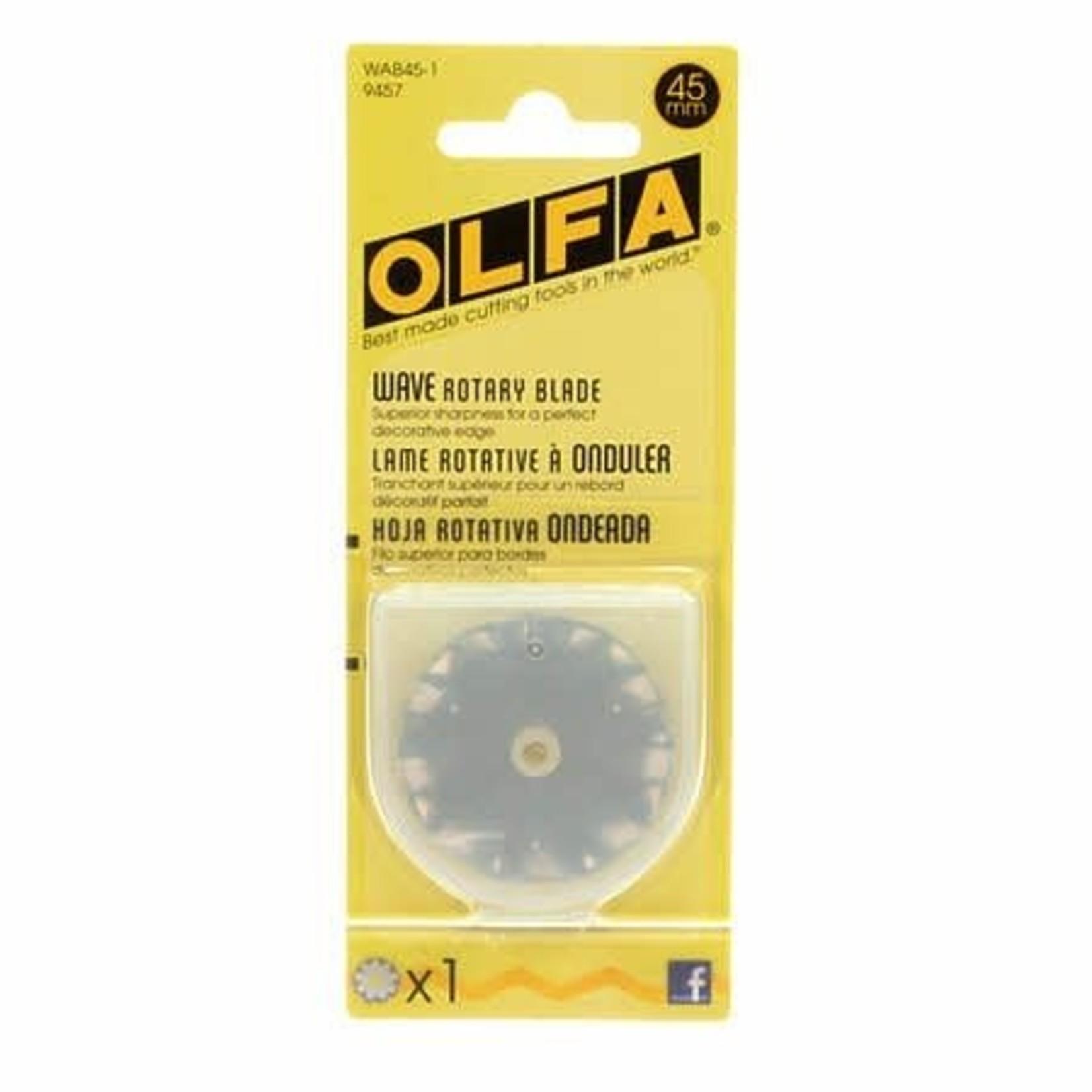 Olfa OLFA WAVE ROTARY BLADE 45MM