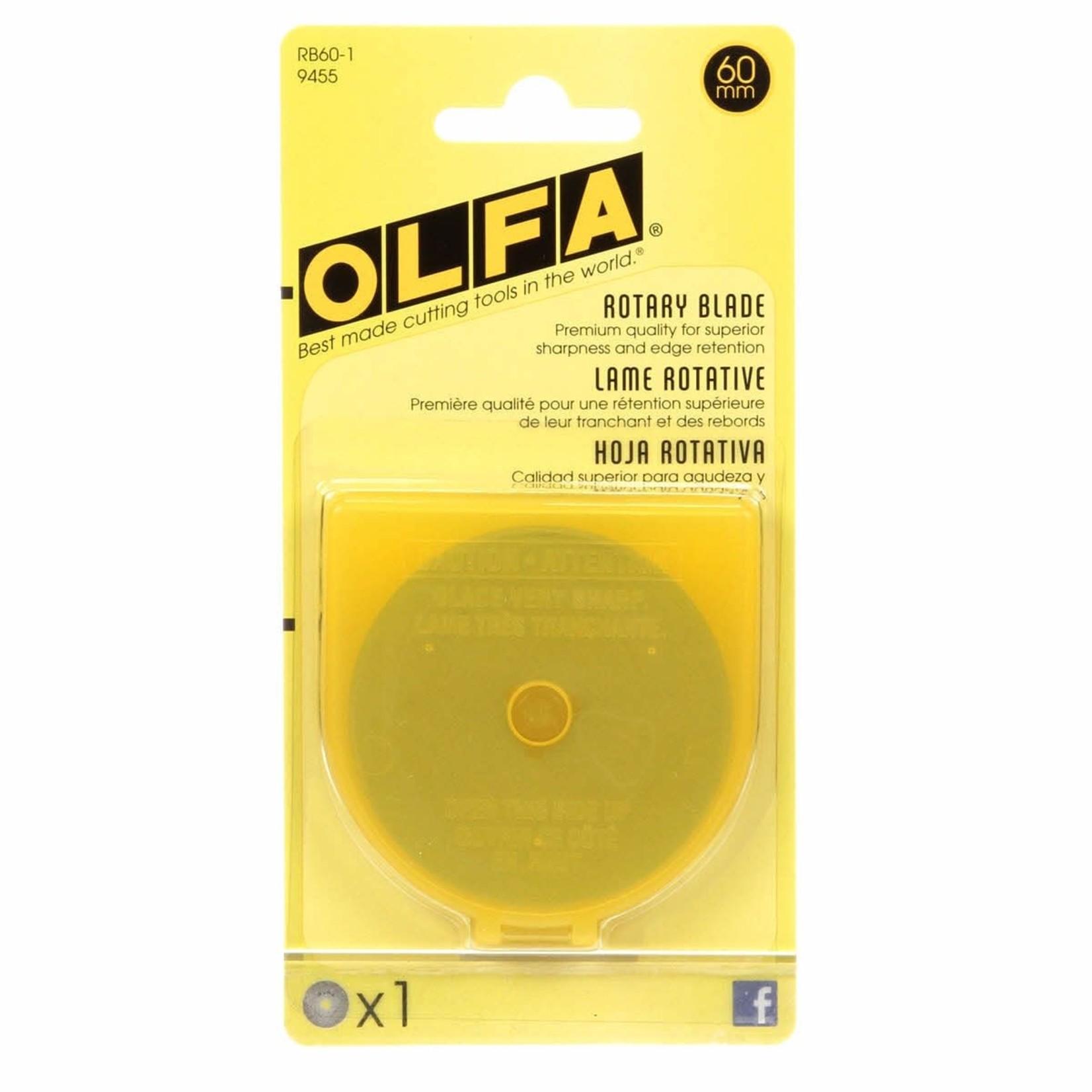 OLFA OLFA ROTARY BLADE 60MM