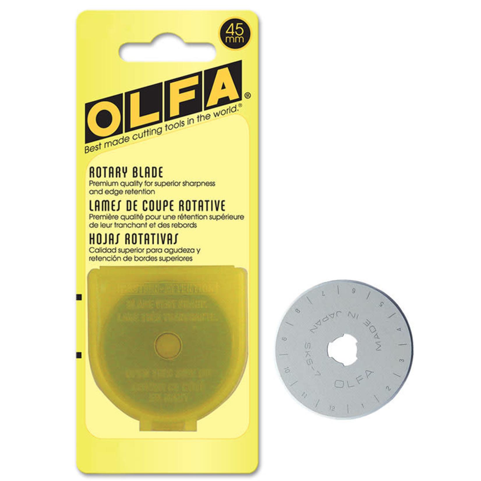 OLFA OLFA 45MM ROTARY BLADE (1 pack)