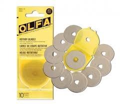 OLFA OLFA ROTARY BLADES 45MM (10 pack)