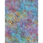 WILMINGTON PRINTS Ribbon Candy, Squiggly Floral Blue/Purple, Fabric I,  Per Cm or $20/m