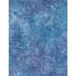 WILMINGTON PRINTS Ribbon Candy, Leafy Scroll Lt. Blue, Fabric L, Per Cm or $20/m