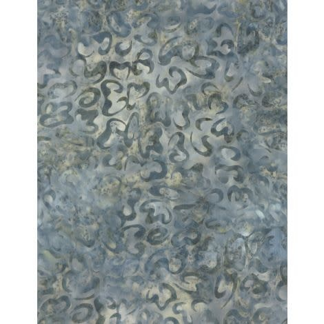 WILMINGTON PRINTS Ribbon Candy, Curls Gray, Fabric M, Per Cm or $20/m