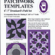 """MARTI MICHELL Perfect Patchwork templates, Large Drunkard's Path set (6""""-7"""")"""