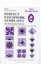 MARTI MICHELL Perfect Patchwork templates, Mini Dresden Plate