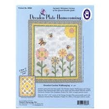 MARTI MICHELL Dresden Plate Homecoming - Queen/Double size quilt pattern