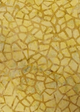 340cm Brown Beige Mosaic BATIK was $18/M
