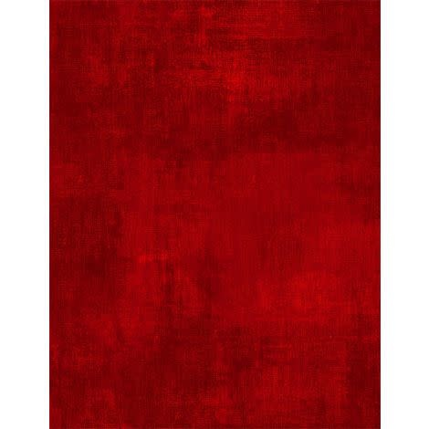 WILMINGTON PRINTS Essentials Flannel, Cherry Red - Per Cm or $20/m