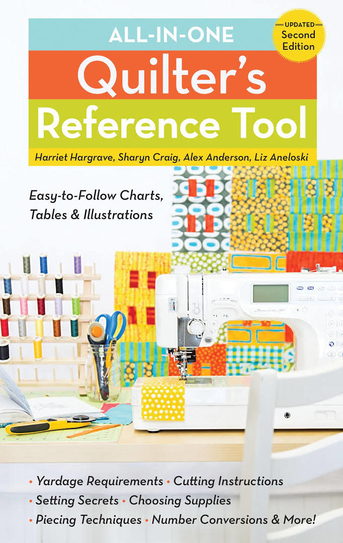 C&T PUBLISHING Book: All-in-One Quilter's Reference Tool, Updated Second Edition