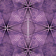 ANDOVER Prism, Geometric Lines - Amethyst, per cm or $20/m