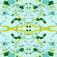 ANDOVER Prism, Splatter - Light Teal, per cm or $20/m