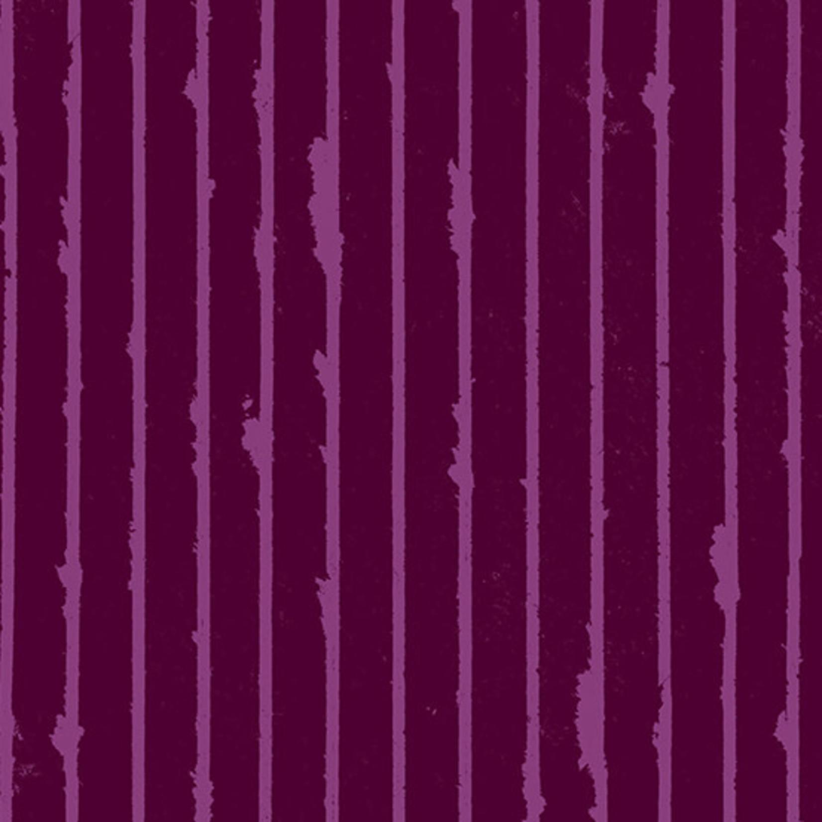 Andover Prism, Stripe - Mulled Wine, per cm or $20/m