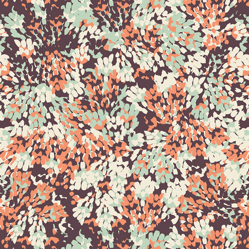 ART GALLERY Everblooming Fig in Voile  V-8675