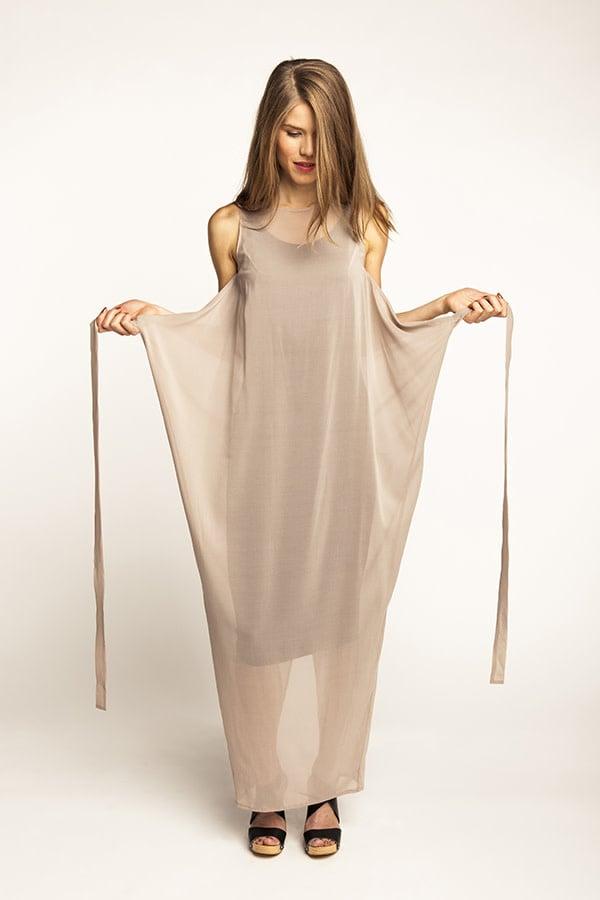 Named Clothing Kielo Wrap Dress Pattern 0-14