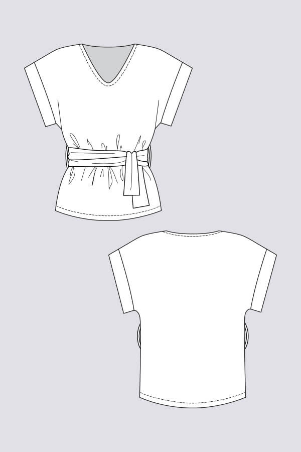 Named Clothing Sointu Tee Pattern 0-18