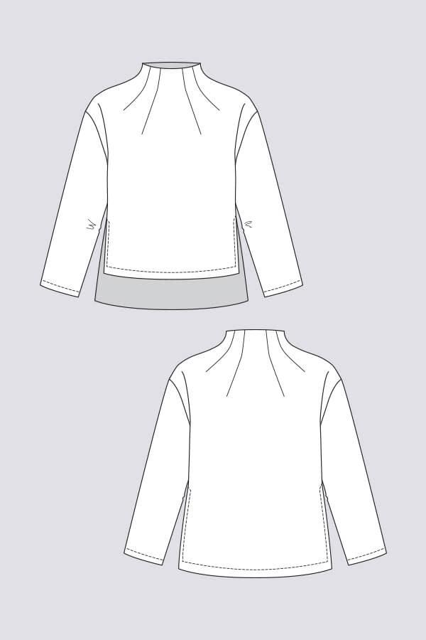 Named Clothing Talvikki Sweater Pattern 0-18