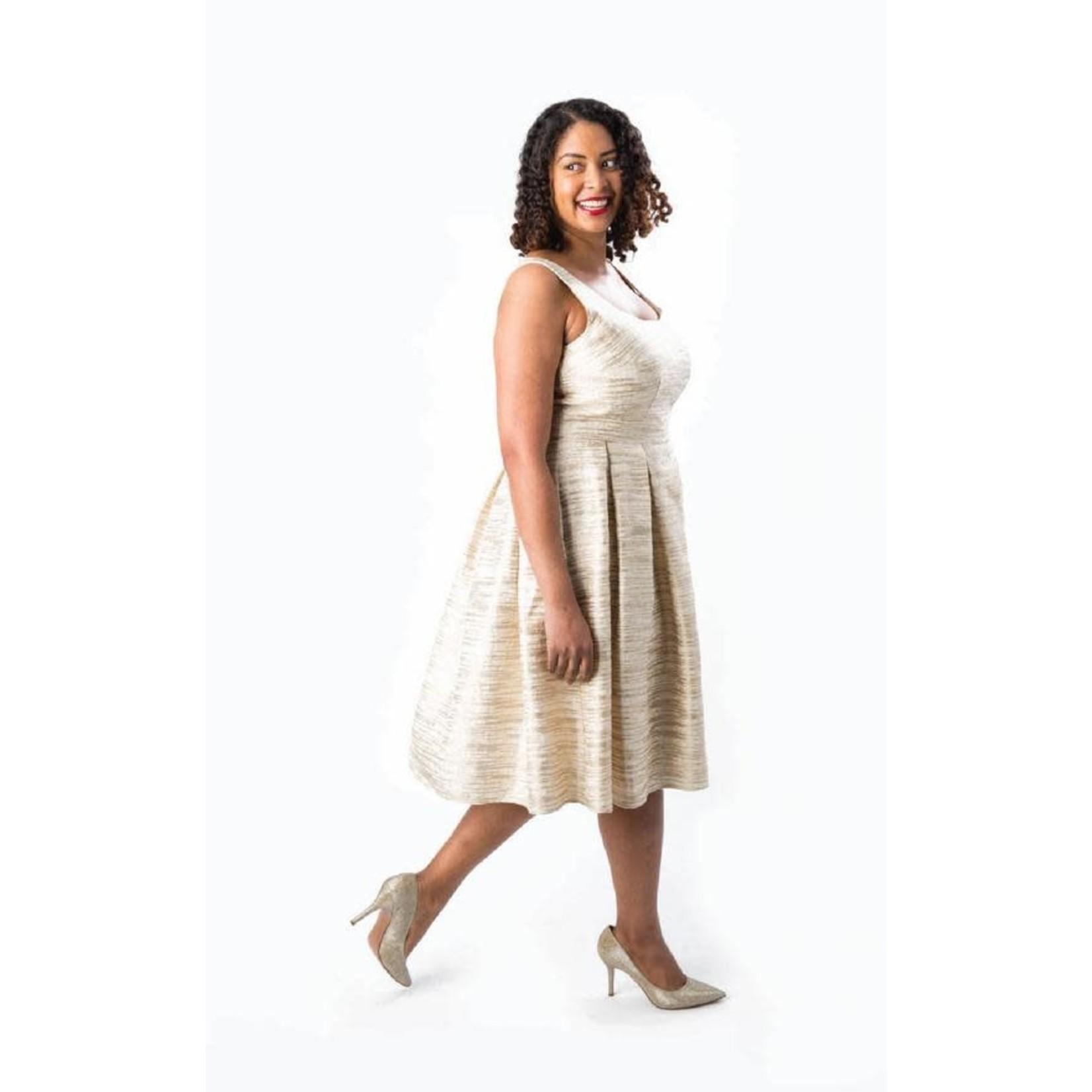 Cashmerette Upton Dress Pattern 12-28 (Cup C-H)
