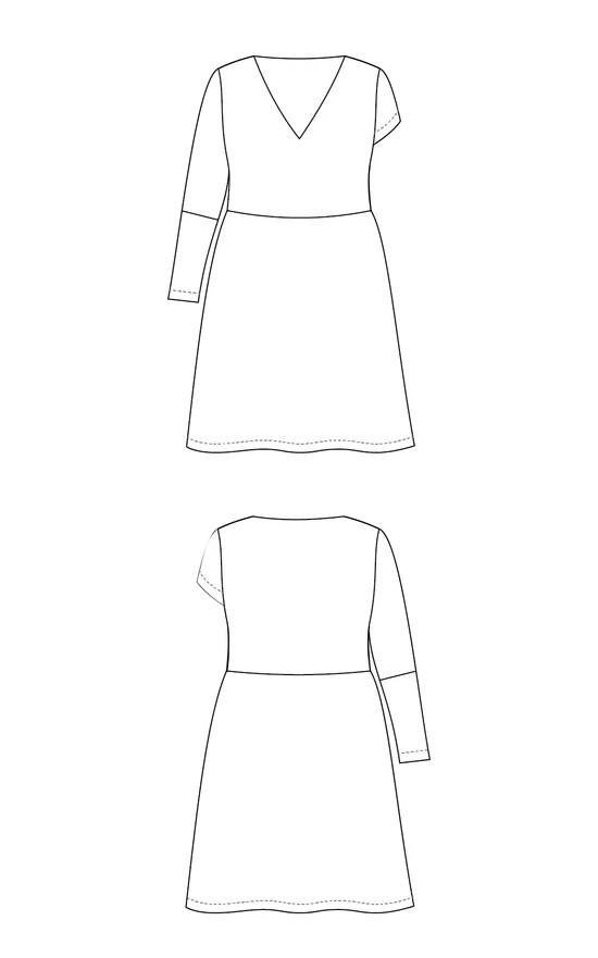 Cashmerette Turner Dress Pattern 12-28 (Cup C-H)
