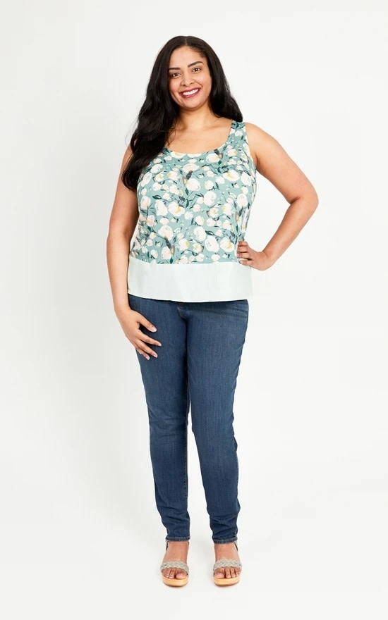 Cashmerette Springfield Top Pattern 12-28 (Cup C-H)