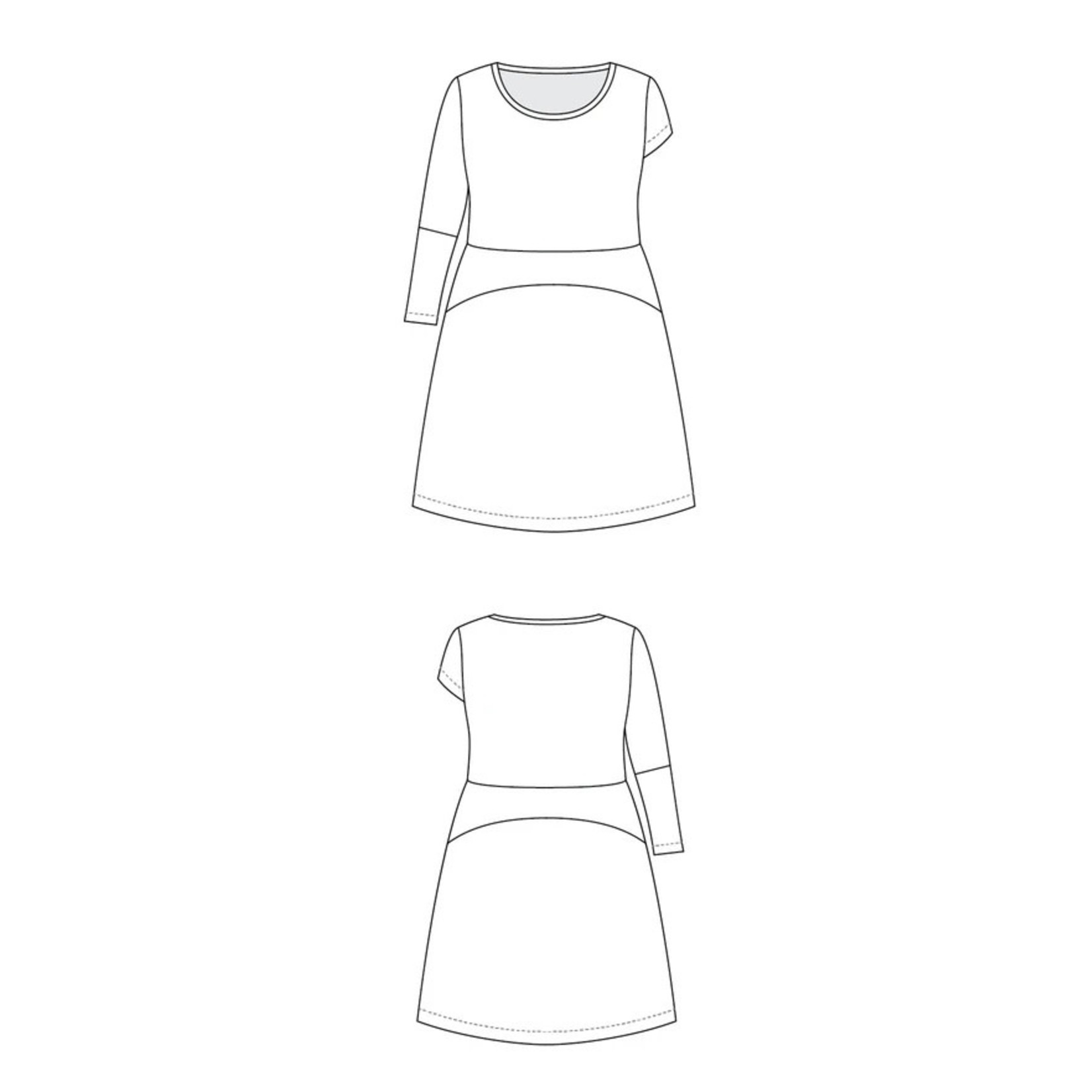 Cashmerette Washington Dress Pattern 12-28 (Cup C-H)