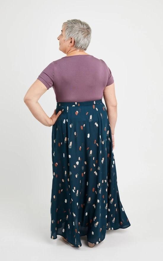 Cashmerette Holyoke Maxi Dress & Skirt Pattern 12-28 (Cup C-H)