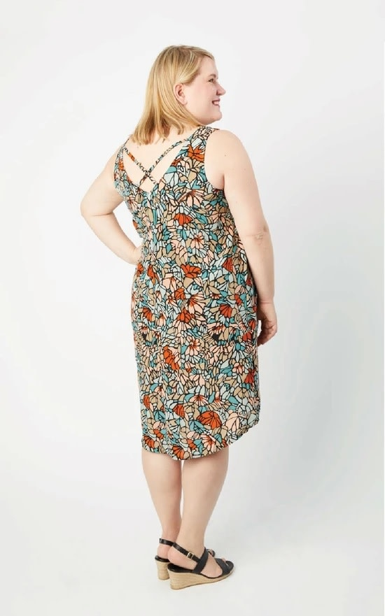 Cashmerette Webster Top & Dress Pattern 12-28 (Cup size C-H)