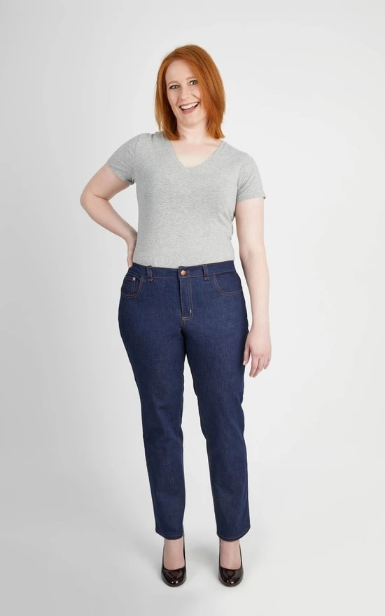 Cashmerette Ames Jeans Pattern 12-28 (Apple & Pear Fit)