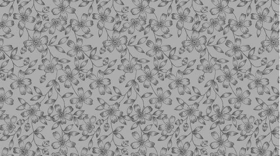 DEAR STELLA Autumn Journal, Fall Floral (Rock), /cm or $20/m