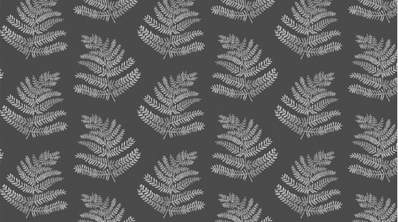 DEAR STELLA Autumn Journal, Ferns (Peat) /cm or $20/m