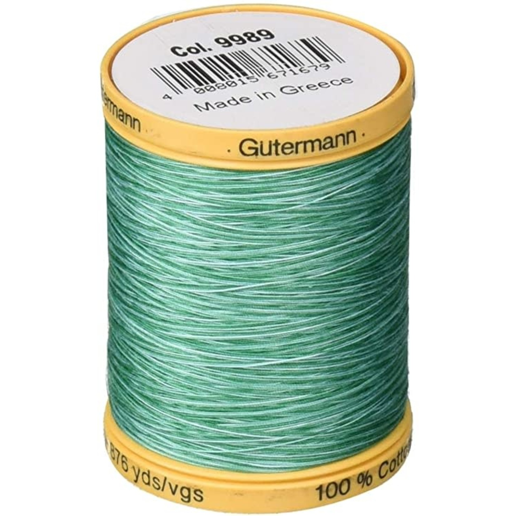 GUTERMANN Col.9989  Cotton 800m BAHAMA OCEAN